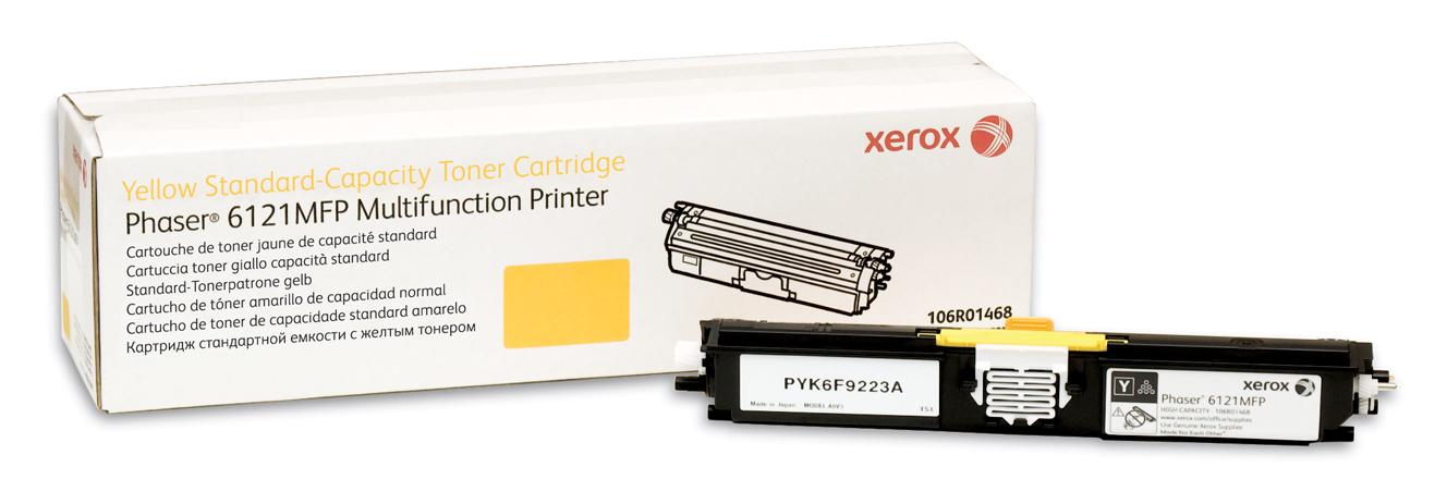 Xerox Phaser 6121Mfp, Tóner Amarillo De Capacidad Normal (1500 Páginas)