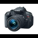 Canon EOS Rebel T5i + EF-S 18-55mm SLR Camera Kit 18MP CMOS 5184 x 3456pixels Black