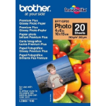 Brother BP71GP20 Premium Glossy photo paper White