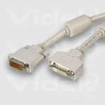 Videk DVI M to DVI F A+D Monitor Extension Cable 5m 5m DVI cable