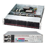 Supermicro CSE-216BE1C-R920LPB server barebone Rack (2U) Silver