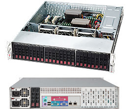 Supermicro CSE-216BE1C-R920LPB server barebone Rack (2U) Zilver