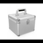 ICY BOX IB-AC628 storage drive case Suitcase case Aluminium Silver