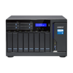 QNAP TVS-1282T3 Ethernet LAN Toren Zwart NAS