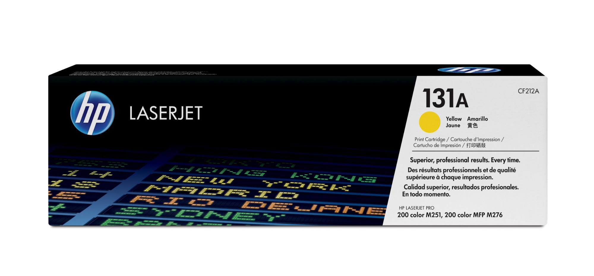 HP 131A Original Amarillo 1 pieza(s)