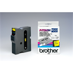 Brother PTouch 24MM Yellow Black NS - TX651