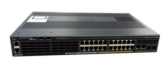 Cisco Catalyst WS-C2960X-24TS-LL switch Gestionado L2/L3 Gigabit Ethernet (10/100/1000) Negro