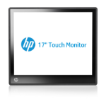 "HP L6017tm touch screen monitor 43.2 cm (17"") 1280 x 1024 pixels Black"