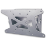 Manhattan 423717 Silver flat panel wall mount