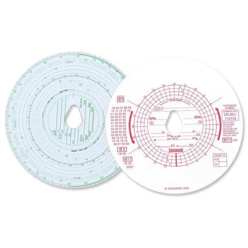 Chartwell Tachograph Discs Kienzle Dual CK801/1101GZ