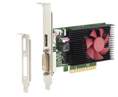 HP NVIDIA GT 730 2GB DP Card