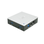 Siig JU-H70311-S1 interface hub 5000 Mbit/s Black,Silver