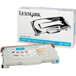 Lexmark 20K1400 Toner cyan, 6.6K pages @ 5% coverage