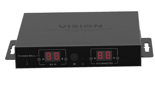 Vision TC-MATRIXRX AV extender AV receiver Black