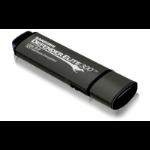 Kanguru Defender Elite300, 128GB USB flash drive USB Type-A 3.2 Gen 1 (3.1 Gen 1) Black, Grey