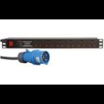 Dynamode PDU-6WS-H-SP-16CMDO power distribution unit (PDU) 6 AC outlet(s) 1U Black