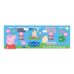 PEPPA PIG Colouring Meter with 68pc Creative Accessories Kit (CPEP173)