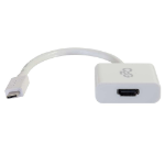 C2G USB3.1-C/HDMI USB3.1-C HDMI White cable interface/gender adapter