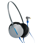Gigabyte FLY Black,Blue,Silver Supraaural Head-band headphone