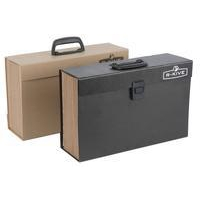 Bankers Box Bankers Box by Fellowes Handifile Expanding Organiser Briefcase Black Ref 9351501