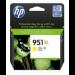 HP 951XL Original Amarillo para impresión de fotografías 1 pieza(s)