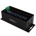 StarTech.com Hub Ladrón USB 3.0 de 7 Puertos Industrial - Concentrador USB con Protección contra Descargas