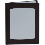 Rexel Clearview A5 Display Book 24-Pocket Black
