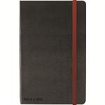 Black n' Red BLK N RED HARD COVER BLACK A4 NOTEBOOK
