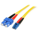 StarTech.com 1m Single Mode Duplex Fiber Patch Cable LC-SC