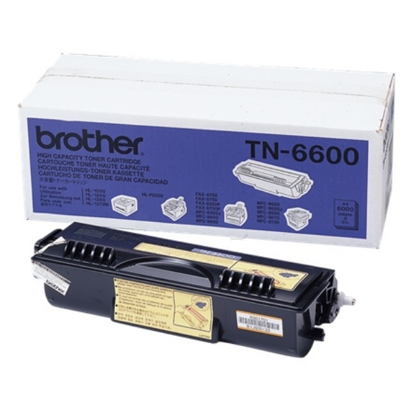 Toner Cartridge - Tn6600 - 6000 Pages - Black