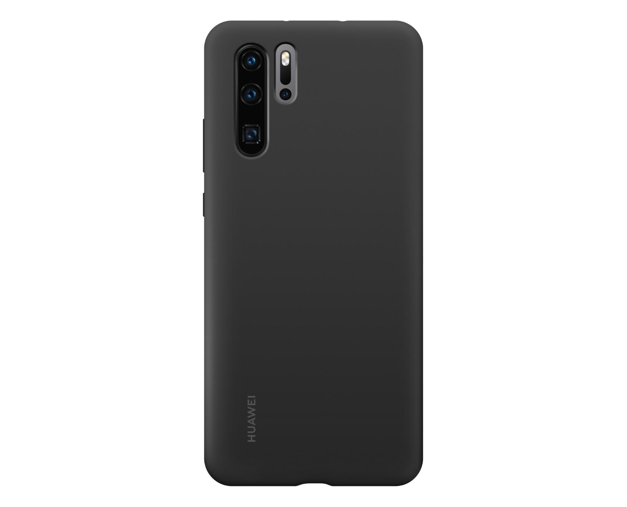 Huawei P30 Pro Silicone Case Black