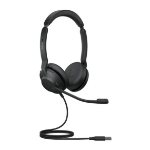 Jabra Evolve2 30, UC Stereo Headset Head-band USB Type-A Black 23089-989-979