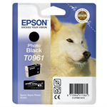 Epson C13T09614010 (T0961) Ink cartridge black, 11ml