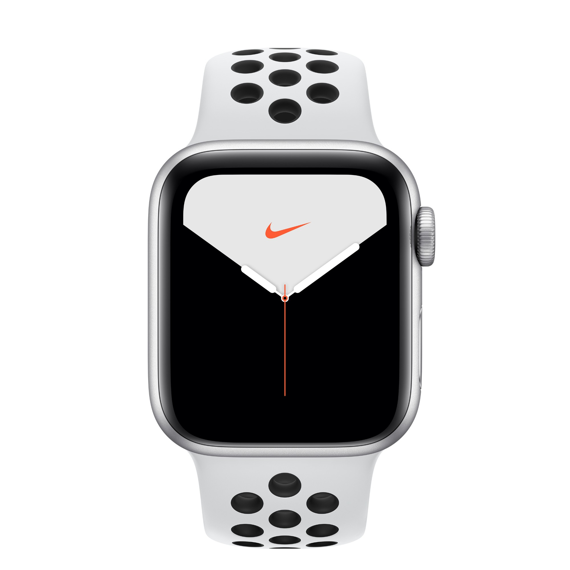 Apple Watch Nike Series 5 smartwatch Silver OLED GPS (satellite)