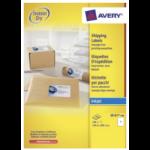 Avery J8167-100 self-adhesive label White 100 pc(s)