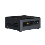Intel NUC BOXNUC7CJYH2 PC/workstation barebone J4005 2 GHz UCFF Zwart BGA 1090