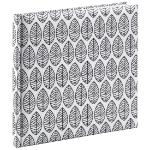 Hama La Fleur writing notebook Black,White 176 sheets