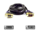 Belkin VGA Monitor Extension Cable 1.8m VGA cable Black