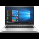 "HP EliteBook x360 830 G7 Hybrid (2-in-1) 33.8 cm (13.3"") Touchscreen Full HD 10th gen Intel® Core™ i5 8 GB DDR4-SDRAM 256 GB SSD Wi-Fi 6 (802.11ax) Windows 10 Pro Silver"