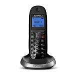 Motorola C2001b DECT telephone Caller ID Black, Silver