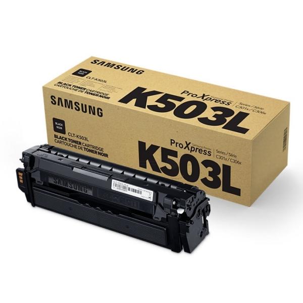 Samsung CLT-K503L/ELS (K503L) Toner black, 8K pages