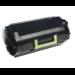 Lexmark 62D0XA0 cartucho de tóner Original Negro 1 pieza(s)