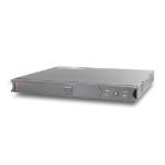 APC SC 450 Line-Interactive 450VA 4AC outlet(s) Rackmount Black uninterruptible power supply (UPS)