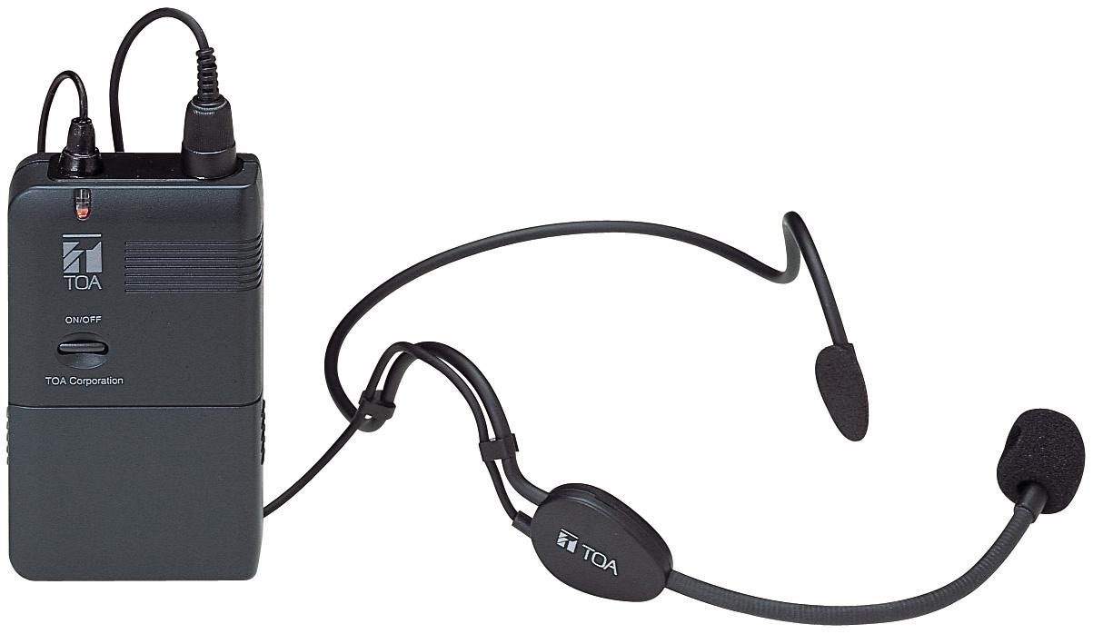 Vhf Headset Wireless Microphone - Wm-3310h