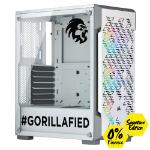 Gorilla Gaming Killer Gorilla: V2.1 Signature Edition - Core i5 9600K 3.7Ghz, 16GB RGB RAM, 512GB, 1TB, 2070 Super