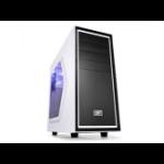 Deepcool Tesseract SW Mid Tower Case Side Window Includes 1 Blue 120mm LED Fan, White