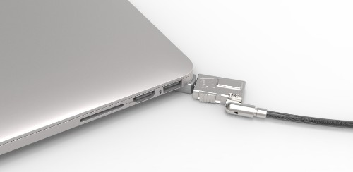 Compulocks MBPR15 BR Wedge cable lock Silver