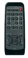 Hitachi HL02483 Black,Grey remote control