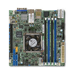 Supermicro X10SDV-TLN4F server/workstation motherboard BGA 1667 Mini-ITX