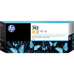 HP F9K02A (745) Ink cartridge yellow, 300ml